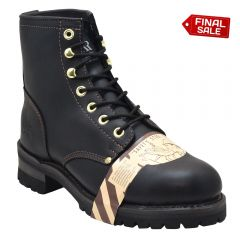 Classic Safety Toe Logger Work Boots