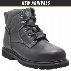 "Golden Fox 6"" Safety Steel Toe Industrial Work Boots"