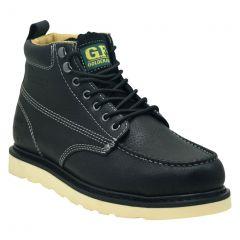 "Golden Fox 6"" Moc Steel Toe Work Boots (Rubber)"