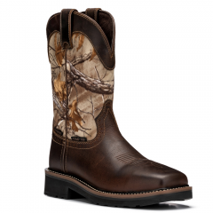 Forest Hunter Western Pull-On Safety Boot