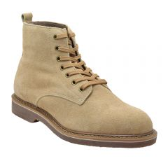 "Men's Classic WWII 6"" Boondockers Pro Leather Suede Tan Boots"