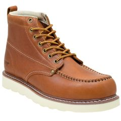 Casual Lace Up Lumber Moc Toe Boot