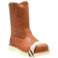 Men's Steel Toe Wellington Work Boot
